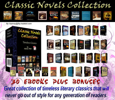Pay for *NEW!* Classic Novels Collection - Master Resell Rights