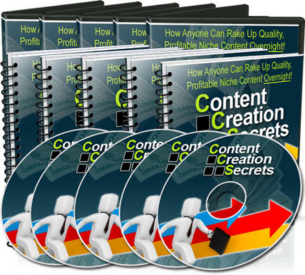 *NEW!* Content Creation Secrets video series MRR – Profitable Niche Content Overnight