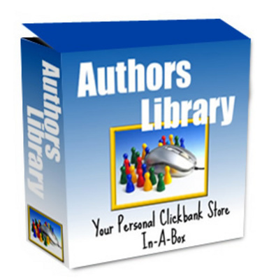 Pay for *NEW!* Authors Library Clickbank Store Mrr