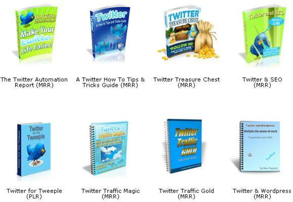 Pay for *NEW!*  8 Twitter Package with Private Label Rights