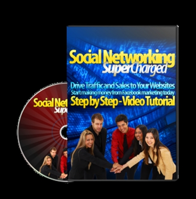 *NEW!* Social Networking Supercharged w Master Resale Rights