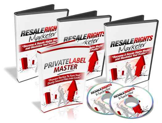 *NEW!* Resale Rights Marketer with Master Resale Rights