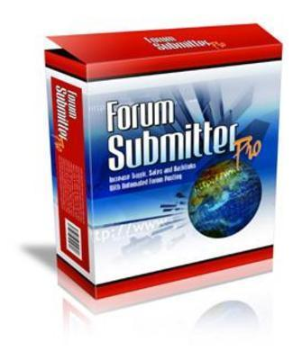 *NEW!* Forum Submitter Pro  Master Resell Rights