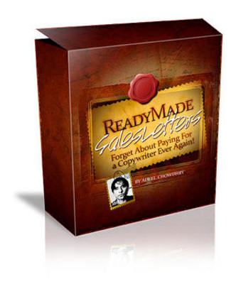 Pay for *NEW!* Ready Made Sales Letter With Master Resale Rights