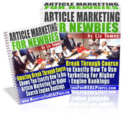 Pay for *NEW!* Article Marketing For Newbie - Master Resell Rights