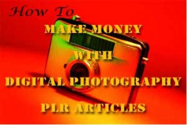*NEW!* 25 Digital Photography PLR Articles
