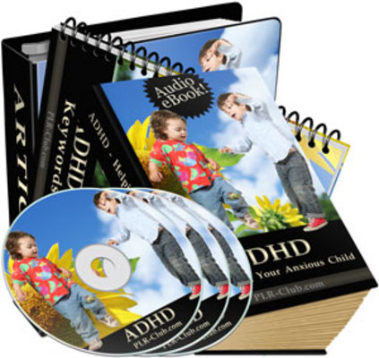 *NEW!* ADHD Helping Your Anxious Child with PLR -Audio Download
