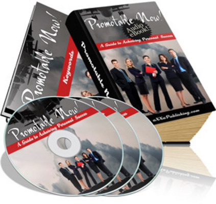 *NEW!* Promotable Now Audio and Ebook PLR!
