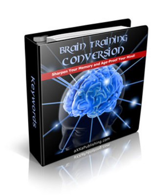 Pay for *NEW!* The Brain Training Conversion W Private Label Rights