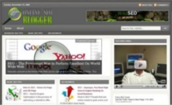 Pay for *NEW!* Online SEO Blogger PLR Blog Website