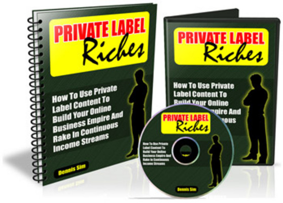 *NEW!* Private Label Riches With Master Resale Rights