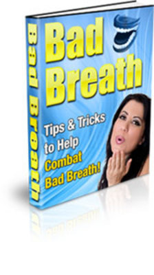 *NEW!* Stop Bad Breath  With Private Label Rights