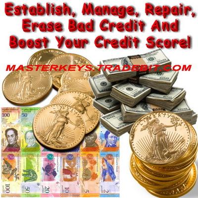 Pay for *NEW!* Establish, Manage, Repair, Erase Bad Credit - PLR