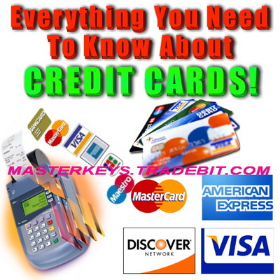 *NEW!* Everything You Need To Know About CREDIT CARDS w/ PLR