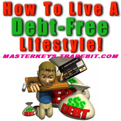 Pay for *NEW!* HOW TO LIVE A DEBT FREE LIFESTYLE - PLR Download