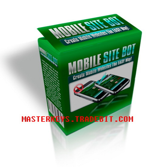 Pay for *NEW!* Mobile Site Bot -Create Your Own Mobile Site Easy PLR
