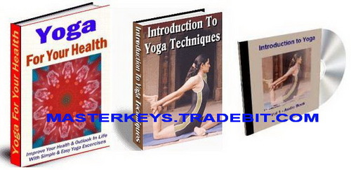 Pay for *NEW!* Yoga  Ebooks Collection Package  Audio Resell Rights