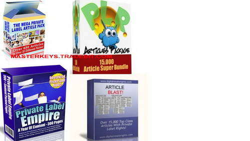*NEW!* 30000+  PLR Articles  with PLR Articles Package