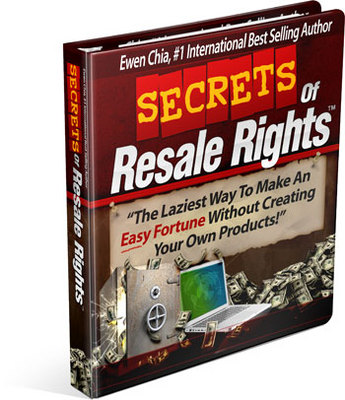 Pay for *NEW!* Secrets of Resale Rights - Ewen Chia