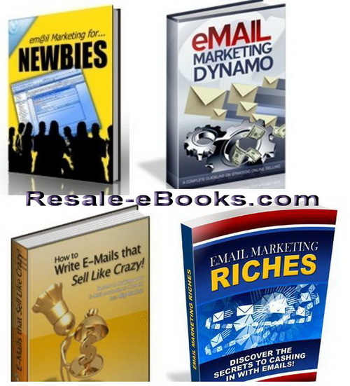Pay for *NEW!* Email Marketing eBooks Collection Email Marketing Tip