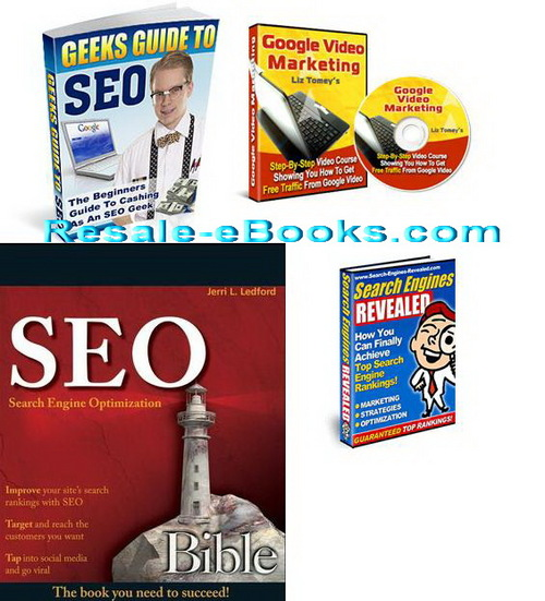 Pay for *NEW!* Search Engine Optimization eBooks Download collection