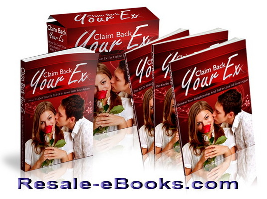 Pay for *NEW!* Claim Back Your Ex MRR Ebook - How To Get In Love + 3