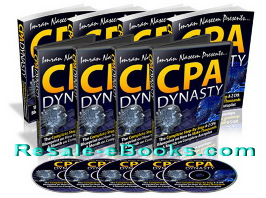 Pay for *NEW!* CPA Dynasty PLR - Step by Step CPA Course That Expose