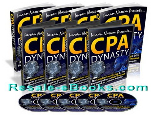 *NEW!* CPA Dynasty PLR – Step by Step CPA Course That Exposes Hidden Traffic Generation