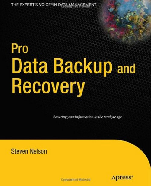 Pay for *NEW!* Pro Data Backup and Recovery eBook