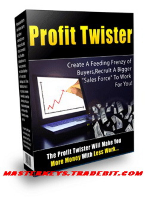 1748431 profittwister *NEW* Profit Twister   Your Profit Pulling List Building Script Powerhouse | Your Affordable All In One Sales Solution