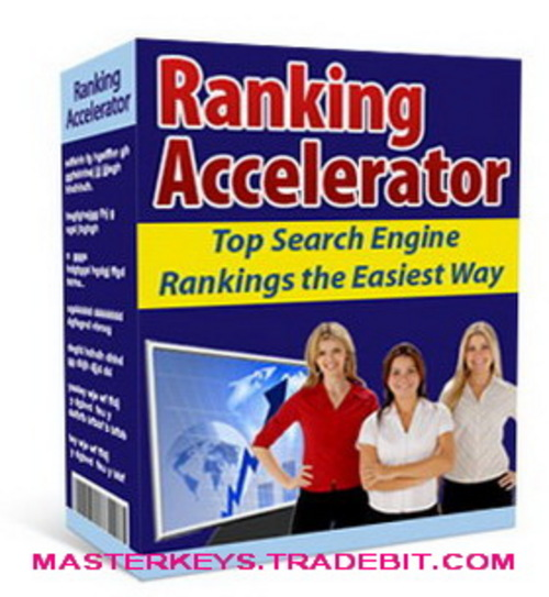 Pay for *NEW!* Ranking Accelerator - Top Search Engine Rankings the Easiest Way script download
