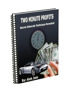 Pay for *NEW*   Two Minute Profits | How an Adwords campaign that costs $4.22 makes me $414.76 every month. And how I replicate it in just 2 minutes