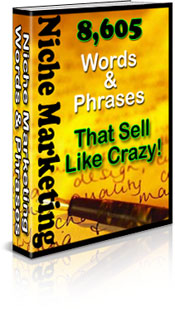 *NEW!*  8605 Niche Marketing Words And Phrases That Sell Like Crazy!