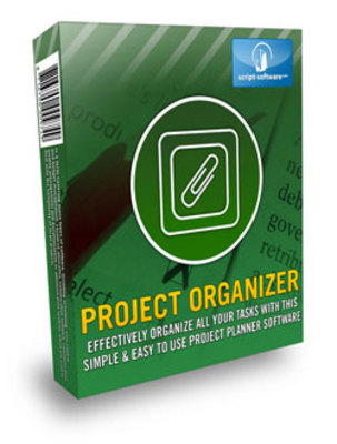 Pay for *NEW!* Project Organizer with Resale Rights