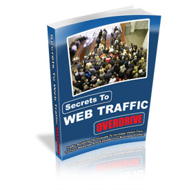 Pay for *NEW!*  Secrets To Web Traffic Overdrive. Traffic Building Techniques to Increase Visitor Flow to Your Websites and Explode Your Business Profits!  - PRIVATE LABEL RIGHTS