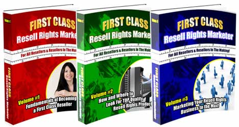 *NEW!*   First Class Resell Rights Marketer | Make a Fortune Reselling Digital