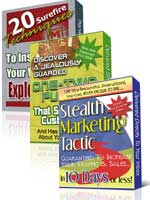 Pay for *NEW*  3 PLR E-book Package | Special Private Label Rights Package