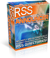 Pay for *NEW!*  RSS Announcer   Get Thousands of Links Automatically - PRIVATE LABEL RIGHTS