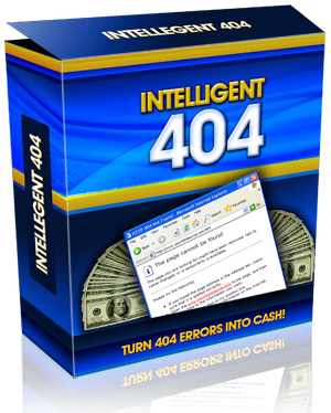 Pay for *NEW!* Intelligent 404 Software - MASTER RESALE RIGHTS | Advice, Guidance and Examples of 404 error pages