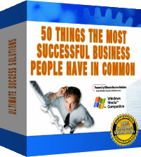 *NEW*  50 Things The Most Successful Business People Have In Common - And How Y