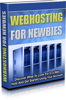 *NEW!* Webhosting For Newbies With Master Resell Rights