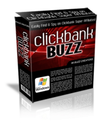 *NEW!* ClickBank Buzz Competition Spy W Resale Resell Rights