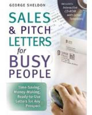 NEW Sales Amp Pitch Letters For Busy People Time Saving
