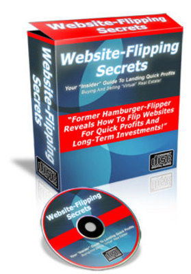 Pay for  *NEW!* Website Flipping Secrets - Insider Guide To Landing Quick Profits Buying And Selling Virtual Real Estate -Master Resale Rights