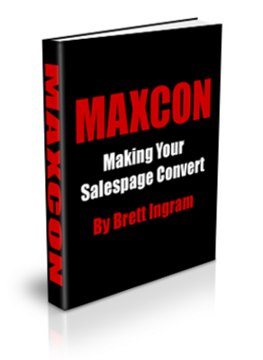 *NEW!*  MAXCON - Making Your Salespage Convert Salespage PLR