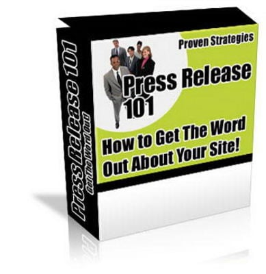 Pay for *NEW!* Press Release 101 with Master Resale Rights