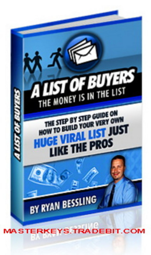 Pay for *NEW!* A List Of Buyers with MRR ebooks download