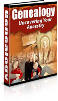 *NEW!* Genealogy Uncovering Your Ancestry  Private Label Rights
