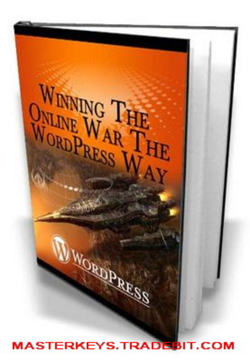 Pay for  *NEW!* Winning The Online War The Wordpress Way - PLR - eBooks Download
