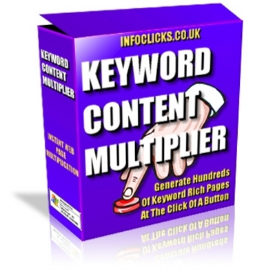 *NEW!* Keyword Content Multiplier  Generate Multiple Keyword Relevant Pages
